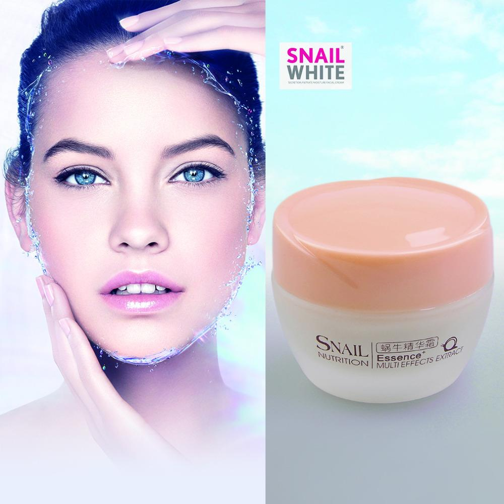 Face Care Essence Nutrition Snail Cream Moisturizing Anti-Aging Anti Wrinkle Day Cream Multi-Effects Summer essential Wholesale