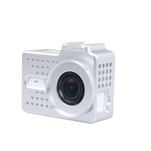 Image 5 - New for Xiaomi Yi 2 4k 4k+ Accessory Aluminium Alloy Metal Housing Frame Protective Case +UV filter for Xiao Yi 4k action camera