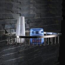 Высокого класса матовый никель из нержавеющей стали 304 душ кэдди проволока корзина стеллажи