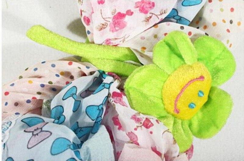 1pcs-35cm-Height-Cartoon-Plush-Sunflower-Curtain-Buckle-Simulation-Fabric-Flower-Home-Party-Wedding-Decoration-Creative-Gifts-5