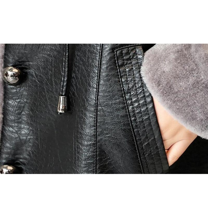 En dark Velours Automne Plus De Long Moyen Épais 298 Manteau Gamme Slim Femelle Hiver Haut Nouveau Black Cuir Grande Le 2018 Taille red Veste Green aYxdUBqwx