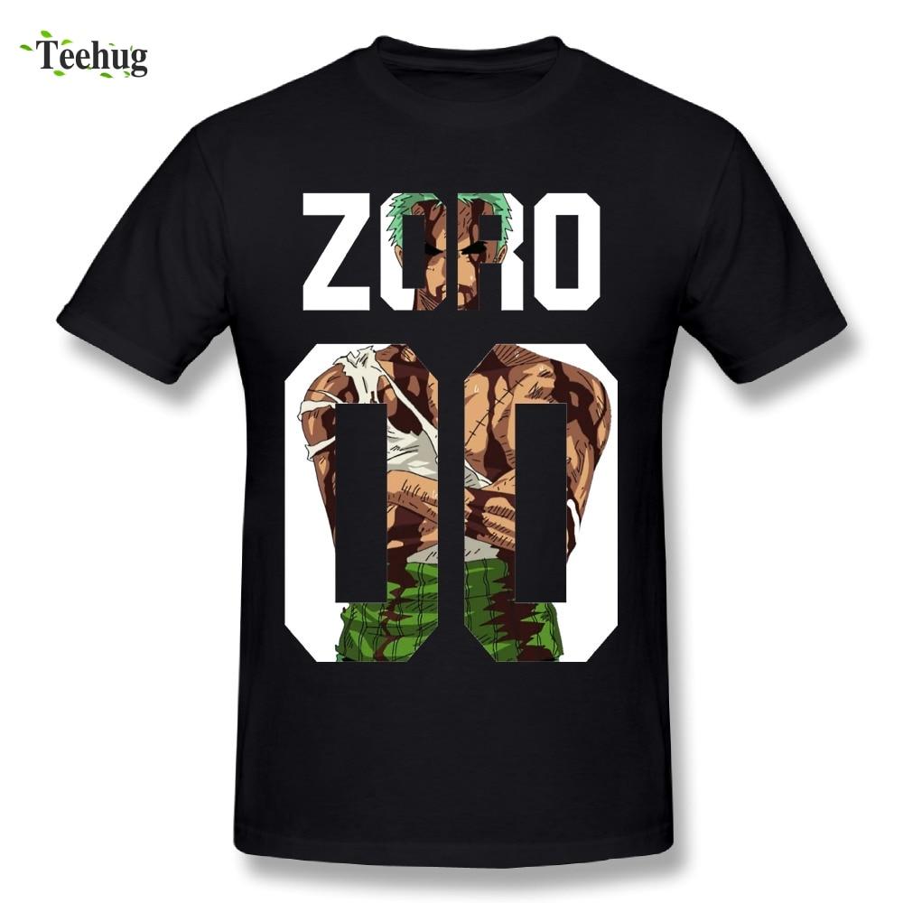 Awesome Roronoa Zoro Man T Shirt New Streetwear Boy One piece T-Shirt Plus Size For Men Wholesale