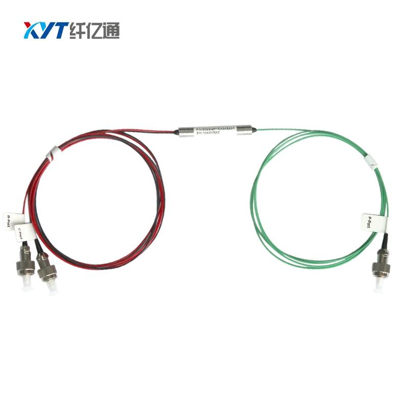 100G 3 port DWDM filter with FC UPC connector Fiber length 1m