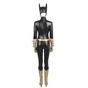 Image 4 - MANLUYUNXIAO חדש הגעה נשים תלבושות Batgirl קוספליי תלבושות ליל כל הקדושים קוספליי תלבושות עבור נשים תפור לפי מידה נשים בסיסית