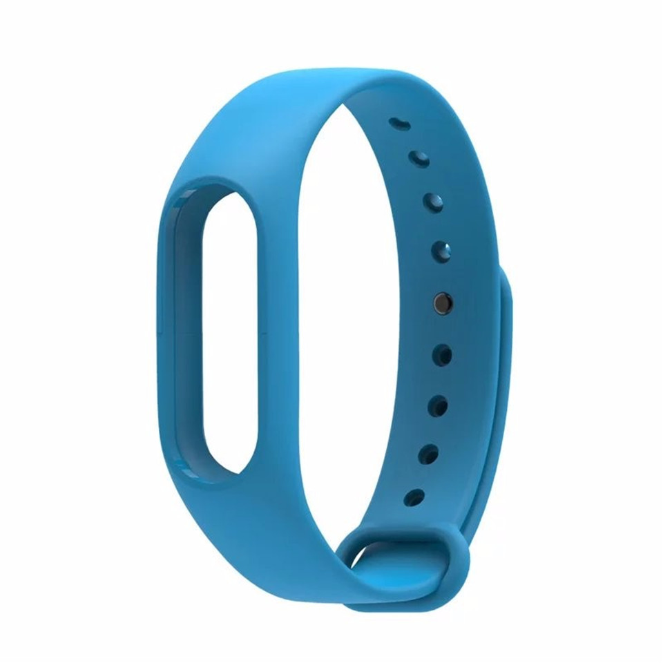 Teyo Silicone Replacement Wrist Strap For Xiaomi Mi Band 2 Smart Band Accessories Miband 2 for Xiaomi Mi Band 2 Smartband Sraps 16