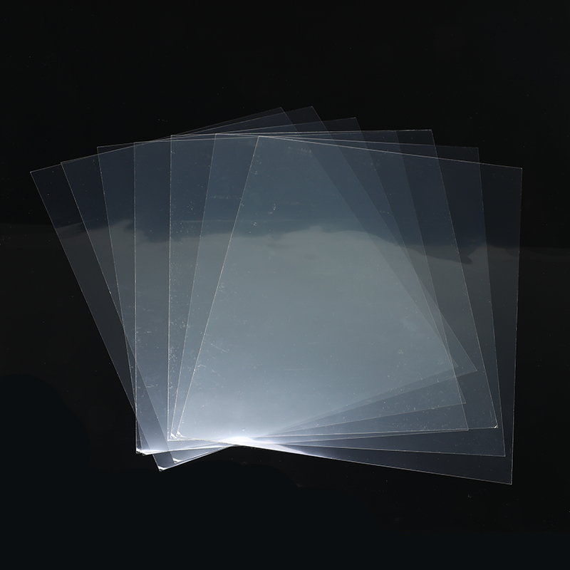 Transparent A4 20pcs/set Double Sided Adhesive Sheet Clear DIY Craft Strong Sticky Tape Paper School Office Supply Hot Sale