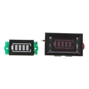 Image 2 - 1S singolo livello di potenza 3.7V batteria al litio capacità modulo indicatore Display blu