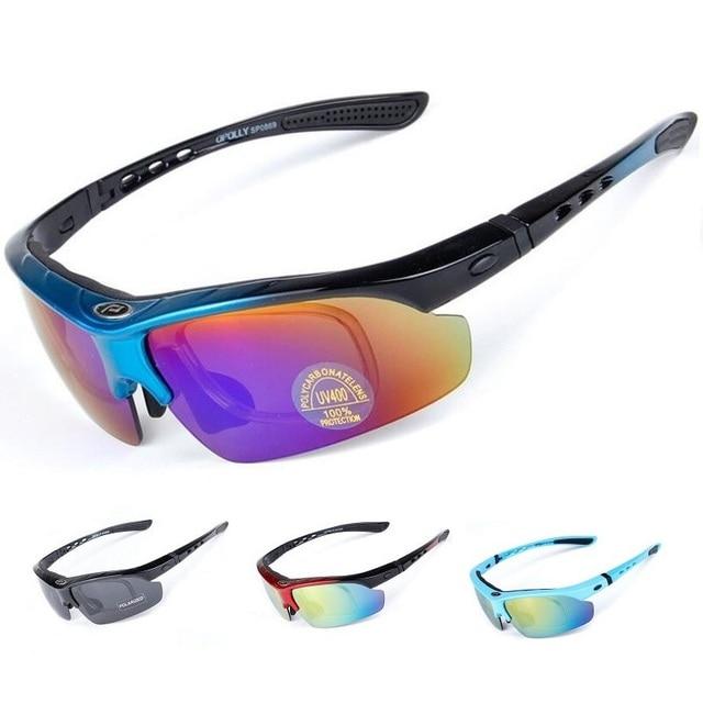 0b0fcc567609 Sport Cycling Glasses for Men Women Professional Riding MTB Bicycle Bike  Sunglasses Polarized Oculos UV 400 Windproof Eyewear