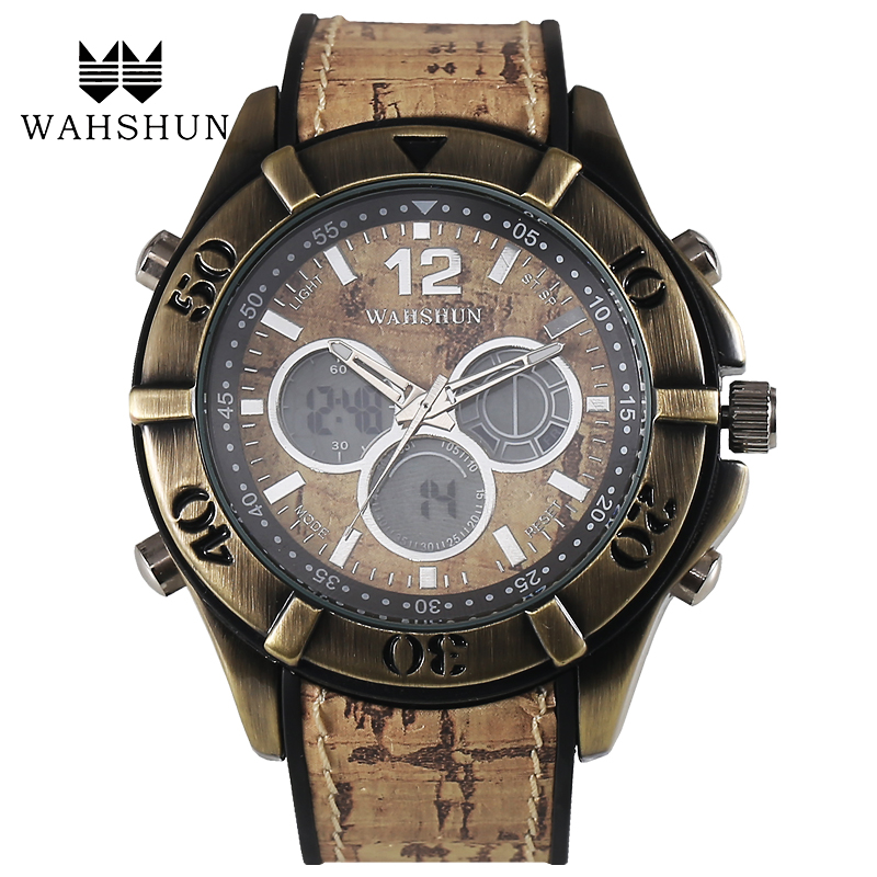 Men s Casual Sports Quartz Watches Mens Watches Top Brand Luxury Antique Watches 2016 Leather Wristwatches