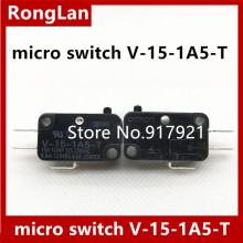 [ZOB] 100% new original Omron omron micro switch V-15-1A5-T Factory Direct  --30PCS/LOT цена 2017