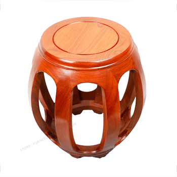 Professional Piano Stool Solid Wood Round Chair Printing Rosewood Children Adult Music Stool New Classical