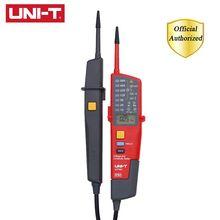 UNI-T UT18C 0~690V AC DC Voltage Testers LCD Display Auto Range IP65 Waterproof Meter RCD Test/Polarity Detection No Power Test цены онлайн