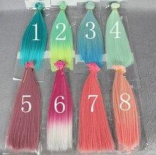O for U 25CM Multi Dreamy Colors Fashionable Doll High temperature Wire Handmade Doll BJD Wigs