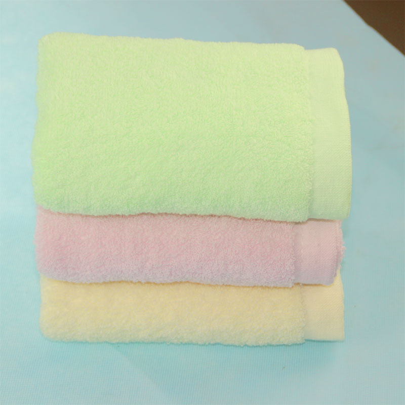 100 Grams Of 14 Cotton Plain Towels Wholesale-in Face