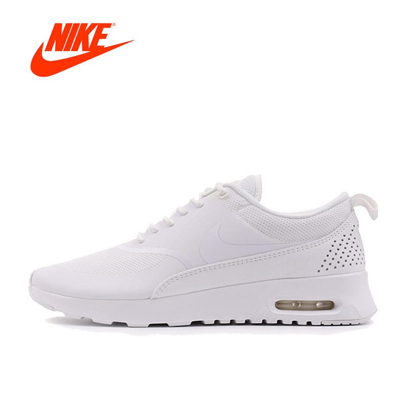 Original New Arrival Authentic NIKE Breathable Black AIR MAX THEA Women's Running Shoes Sports Sneakers Outdoor Athletic цена