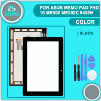 New ME302 LCD Touch Screen For Asus MeMO Pad FHD 10 ME302 ME302C 5425n Display Touch
