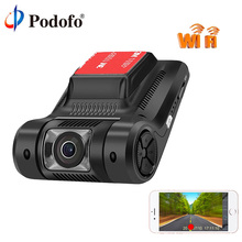 Podofo Новатэк 96658 Видеорегистраторы для автомобилей Новый Wi-Fi Скрытая мини Камера регистратор регистраторы FHD 1080 P WDR Ночное видение цифрового видео Регистраторы