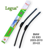 Legua Car Windscreen Wiper Blade For BMW X3 E83 2003 2010 20 22 Car Wiper Rubber