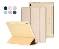 Super Thin Slim Lightweight 3 Fold Folio Stand PU Leather Cover Magnet Smart Case For Lenovo