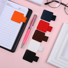 4PCS Self-adhesive Leather Pen Clip Pencil Elastic Loop for Notebooks Journals Clipboards Pen Holder(China)