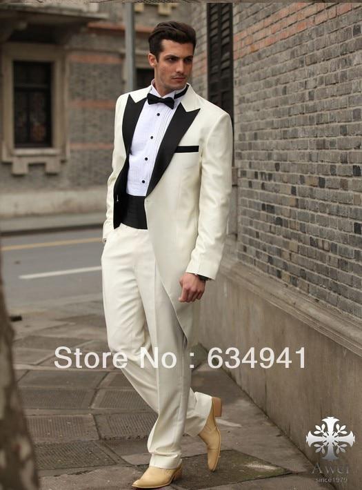 Custom cheap western wedding new long style groom tuxedos man for ...