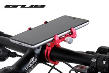 GUB 5 color Universal Bike Motorcycle Phone Stand Aluminum Bicycle Handlebar Mount Holder For iPhone Samsung Cycling Accessories