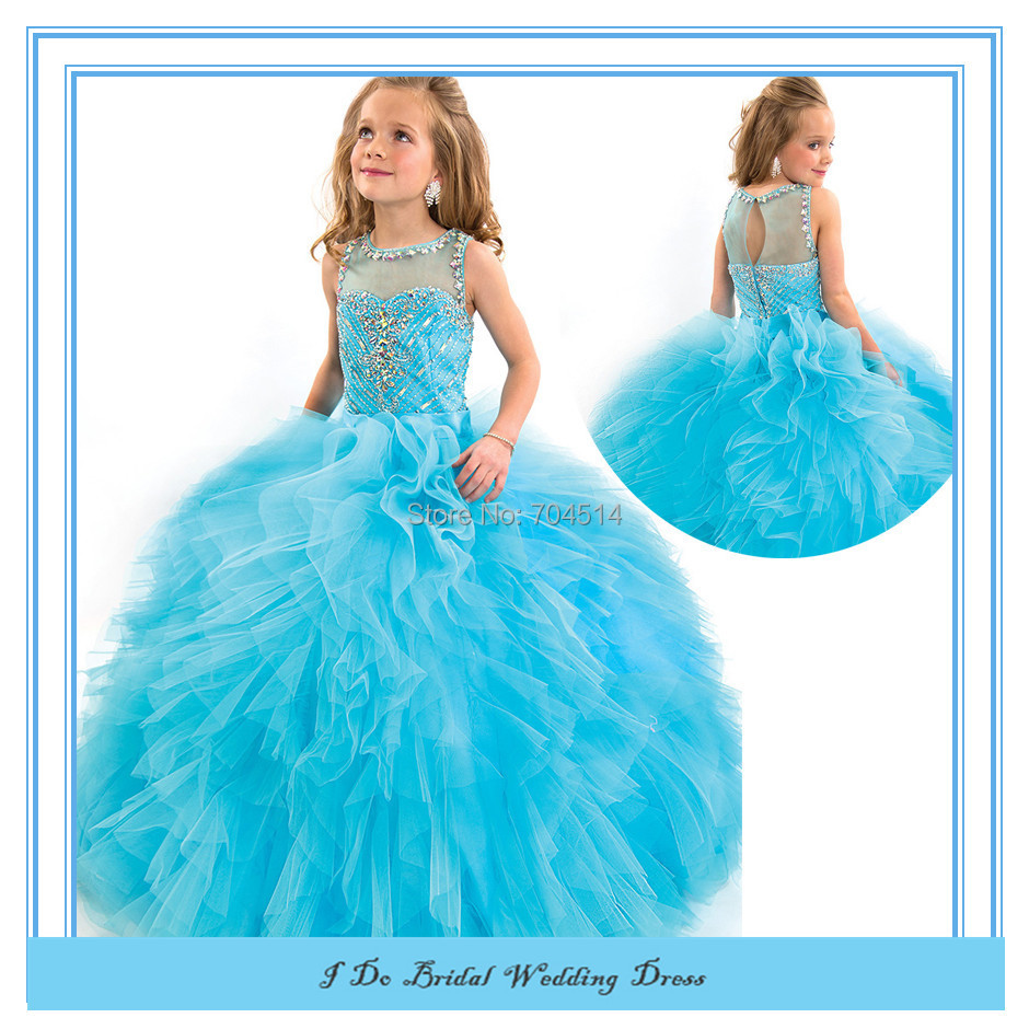 Rapd03 New High Quality Ball Gown Kid Wedding Dress