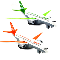 A350 Airbus Aircraft Electric Moving Flashing Model Alloy Materials Kids Toys Diecast Aircraft Toys Collection For Aviation Fans