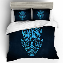 Night King Game Of Thrones Duvet Cover Bedding Sets Bed Linen Pillowcases Sheet Size Set Home Textile Dropshipping