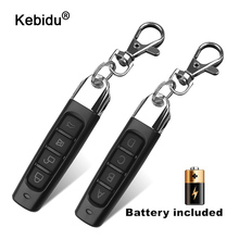 Newest 4 Channel Mini Wireless 433Mhz Cloning Remote Control Copy Code Remote Electric Cloning Gate Garage Door Auto