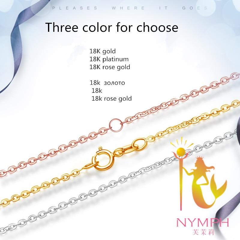 [НИМПХ] Оригинална 18К бела жута ружа - Фино накит - Фотографија 2