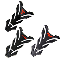 Motorcycle Carbon Fiber Tank Cover Decal Sticker for Yamaha YZF R1 R6 YZFR1 YZFR6 MT03 MT 03 MT 09 MT09 Tank Pad Protector