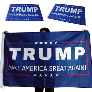 1Pcs 150x90cm Donald Trump Flag Make America Great Again Donald For President USA