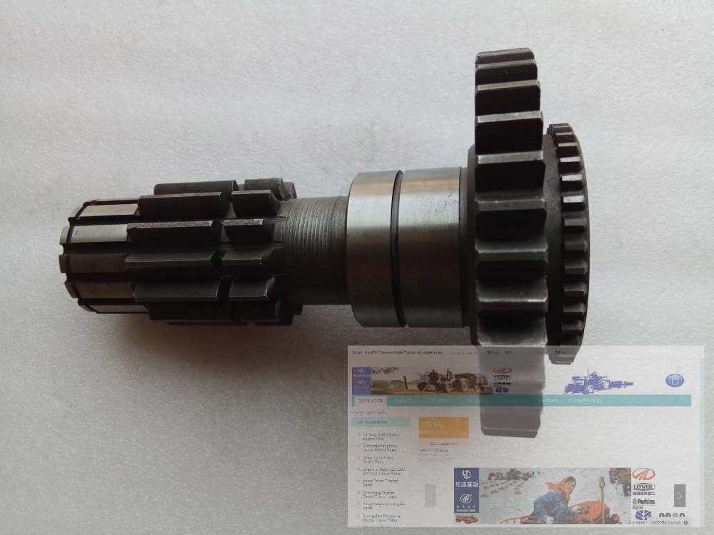 JINMA tractor 404 454 etc, the shaft, part number: 400.37.169A jiangdong engine jd495t for tractor like jinma luzhong etc the water pump part number
