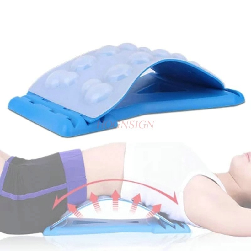 все цены на Lumbar disc lumbar disc herniation traction device bed frame home lumbar cervical spine correction spinal spine