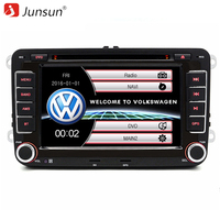Junsun 7 inch 2 din Car DVD GPS radio player for Volkswagen VW golf 6 touran passat B7 sharan Lavida polo tiguan with free gift