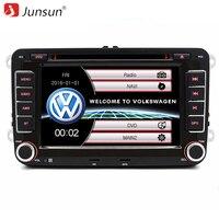 Junsun 7 Inch 2 Din Car DVD GPS Radio Player For Volkswagen VW Golf 5 6