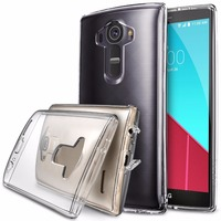 100 Original Ringke Fushion Case For LG G4 360 Full Protection Clear Back Cover Phone Cases
