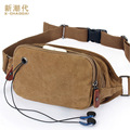 2016 Travel Bags Canvas Waist Bag men Fanny Pack Man Out Door Money Belt Bag Men Waist Pack Pochetes Homem Bolso Cintura DB28