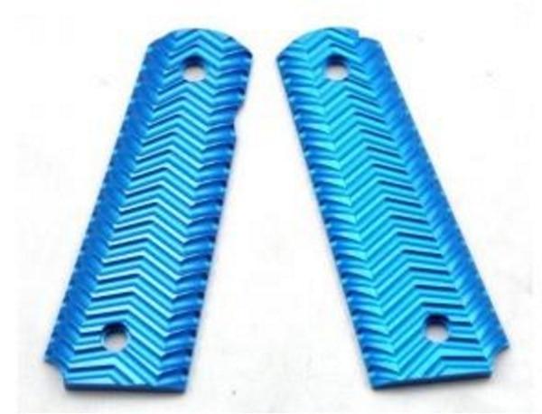 TACTICAL SPORTS CNC Aluminium 1911 fullsize MEU Grip Cover WARGMAE