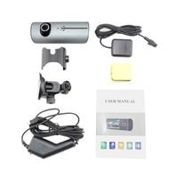 Dewtreetali Dash Camera 2.7 Vehicle Car DVR Camera Video Recorder Dash Cam G Sensor GPS Dual Lens Camera X3000 R300 Car DVRs