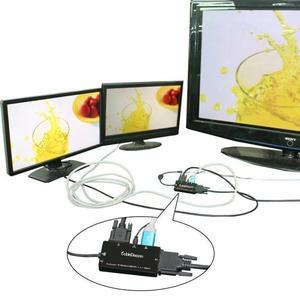 Image 3 - Displayport a DVI hdmi VGA Converter DP 4 in 1 Audio Cavo USB Multi funzione di Adattatore Per Il Calcolatore Del PC monitor Multimedia