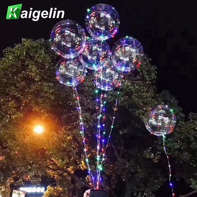 Us 9 77 23 Off 3m 30 Led Beads Balloon Light Outdoor Christmas Lights Indoor Fairy Lights New Year S Decor Wedding Decorations Holiday Lights In