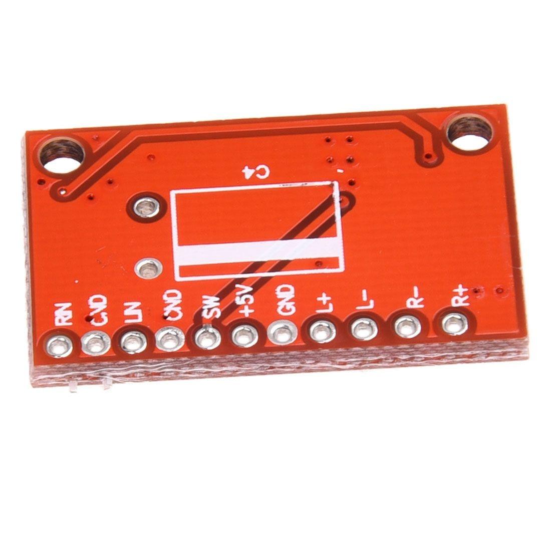 High-Power 2-Channel 3W PAM8403 Audio Super Mini Digital Red Amplifier Board