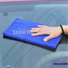 Hot Sale New 10pcs/lot Car Cleaning Wash Polish Clean Cloth Microfiber Towel 30X30cm Super Soft  Free Shipping