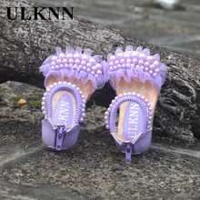 New summer Flower for girl children sandals female child baby single shoes casual beach shoes fashion princess shoe