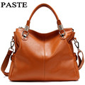 PASTE High Quality Brand For Women's Shoulder Bags Genuine Leather Women Handbag First Layer Of Cowhide Genuine Leather Bags