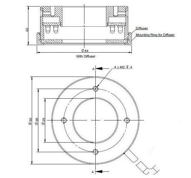 22f4fbb2d835 Aliexpress.com : Buy LED Lights Source Ring Lamp 25mm White Light Single  Barrel Lens Zoom Lens Illumination Machine Vision Light Industrial Lighting  from ...