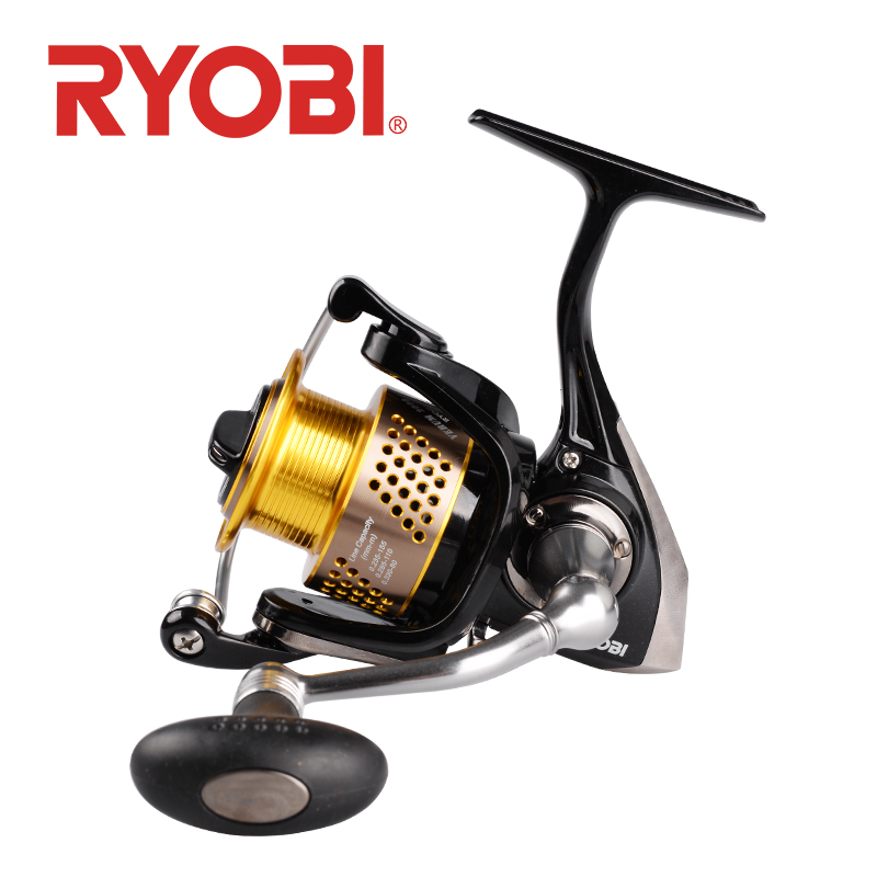 <font><b>RYOBI</b></font> VERUM CNC HANDLE fishing spinning reel 2000 <font><b>3000</b></font> 4000 7+1BB carrete de pesca moulinet spinning carp fishing reels spinning image