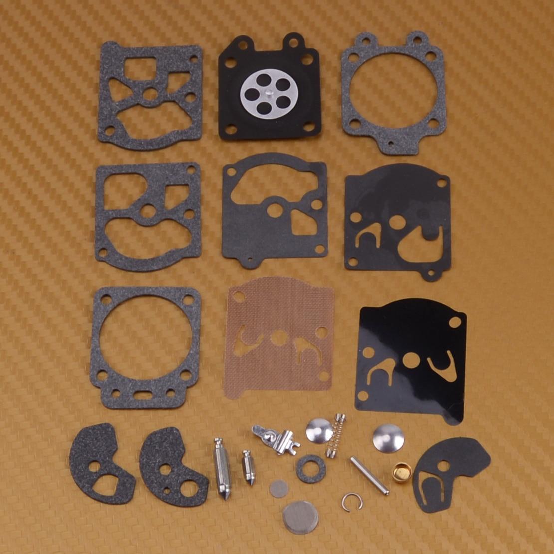 LETAOSK Carburetor Repair Kit 123100-16330 Fit For Husqvarna 50R 26L 232R 235R 225R 240